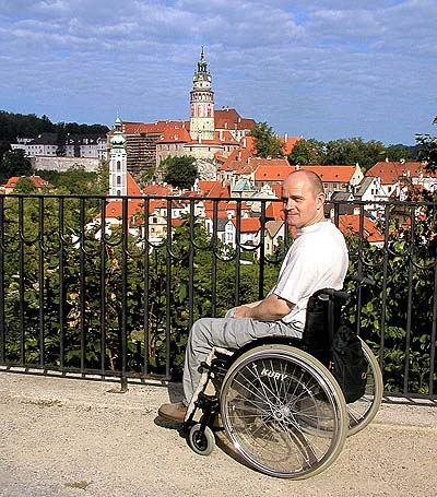 Český Krumlov: A Guide for Handicapped and Other Visitors, foto: Lubor Mrázek