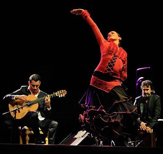 Carlos Piñana and flamenco, 30.7.2011, 20th International Music Festival Český Krumlov