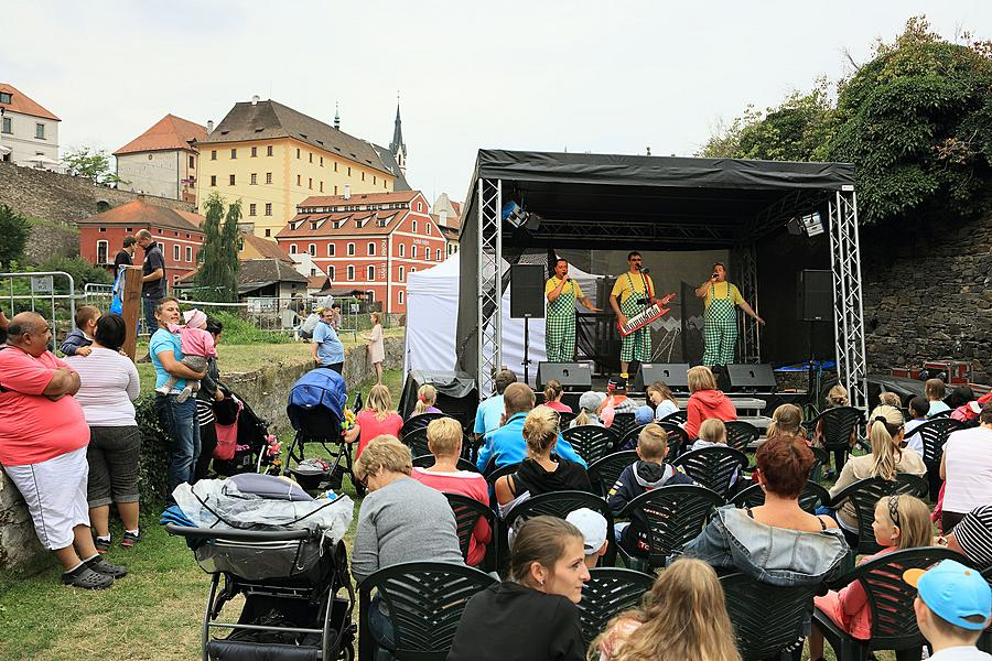 Children's Afternoon with the Rhythm of Energy, 2.8.2015, International Music Festival Český Krumlov