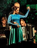 "Escualo Quintet and Gabriela Vermelho - ""Tango argentino"", 6.8.2015, International Music Festival Český Krumlov, source: Auviex s.r.o., photo by: Libor Sváček"