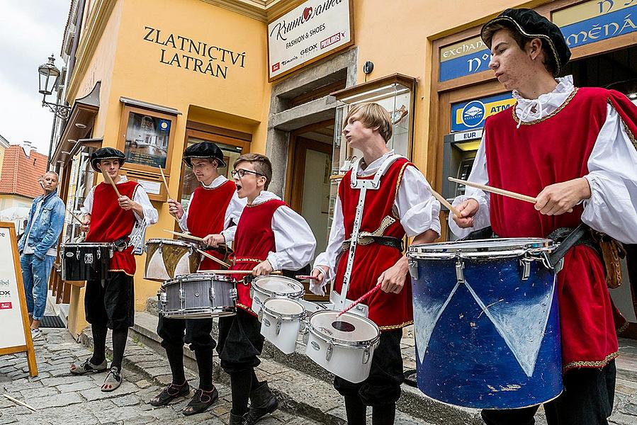 Five-Petalled Rose Celebrations ®, Český Krumlov, Friday 22. 6. 2018
