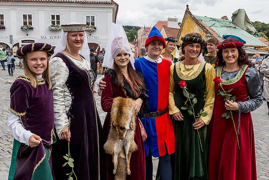Five-Petalled Rose Celebrations ®, Český Krumlov, Saturday 23. 6. 2018
