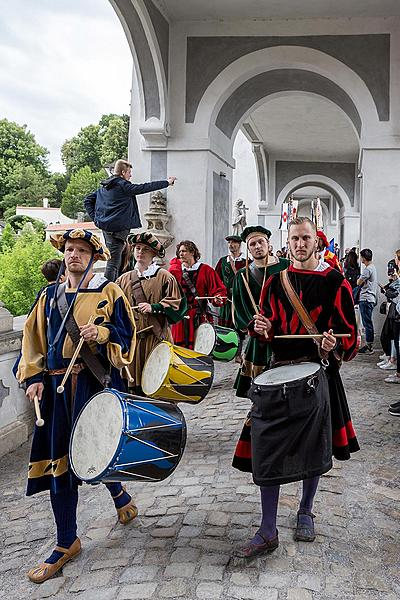Five-Petalled Rose Celebrations ®, Český Krumlov, Sunday 24. 6. 2018
