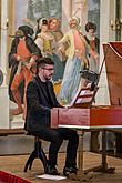 Johann Adolf Hasse - Secular cantatas and sonatas, Filippo Mineccia – countertenor, Il gioco de' Matti, Chamber Music Festival 1.7.2018, photo by: Lubor Mrázek