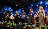 Tribute to Leonard Bernstein - The Best Songs from Musicals, International Music Festival Český Krumlov 28.7.2018, source: Auviex s.r.o., photo by: Libor Sváček