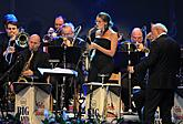 """KEEP SWINGING!"" – Swing evening in the Las Vegas style, Jan Smigmator, Dasha, Tom Gaebel, RTV Big Band Felixe Slováčka etc., International Music Festival Český Krumlov 4.8.2018, source: Auviex s.r.o., photo by: Libor Sváček"