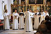 Schola Gregoriana Pragensis, International Music Festival Český Krumlov 5.8.2018, source: Auviex s.r.o., photo by: Libor Sváček