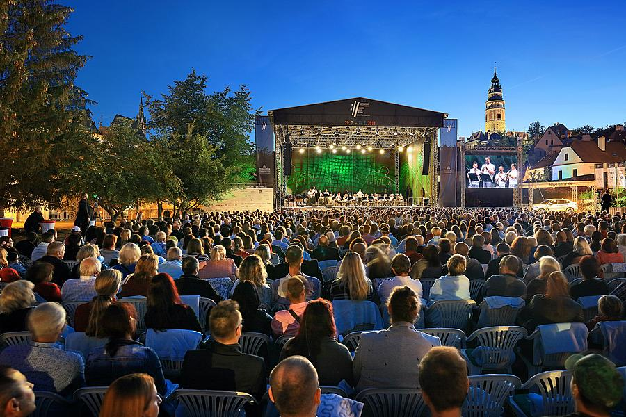 "Czech-Slovak Evening – celebration of 100th ""birthday"" of our state, International Music Festival Český Krumlov 11.8.2018"