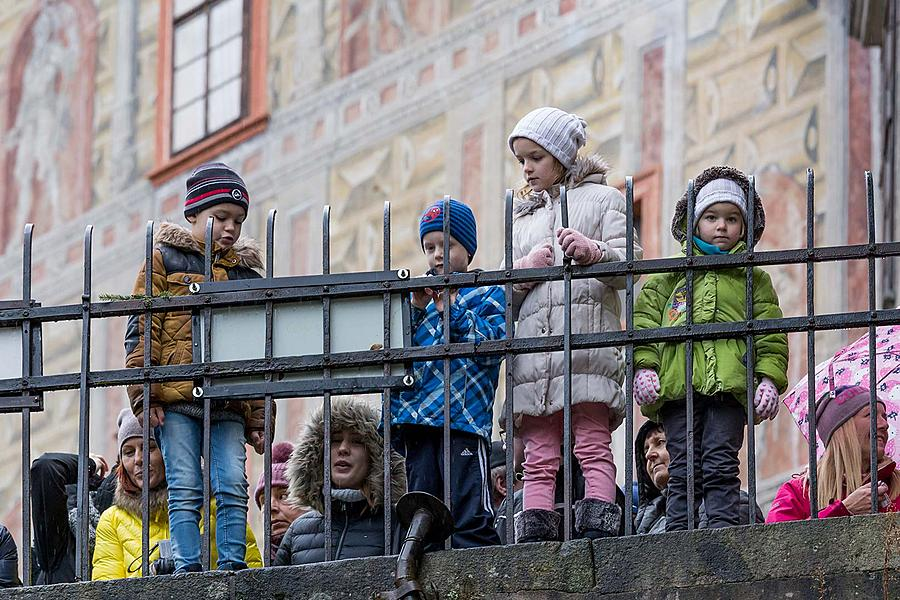 Christmas for the Bears, 24.12.2018, Advent and Christmas in Český Krumlov