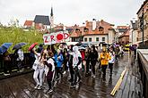 6th Students rag Day, Magical Krumlov 30.4.2019, photo by: Lubor Mrázek