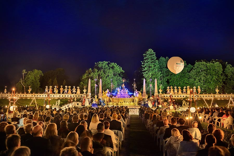 Venus and the elements: Music and dance from the era of the Sun King (Opening gala evening with Baroque illumination), 19.7.2019, Internationales Musikfestival Český Krumlov