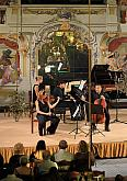 Piano trio Bacarisse (Spain), From Romanticism to the 20th century and back to Classicism, 24.7.2019, International Music Festival Český Krumlov, photo by: Libor Sváček