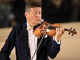 Ivan Ženatý (violin), 31.7.2019, International Music Festival Český Krumlov, photo by: Libor Sváček