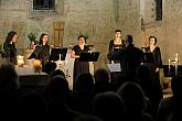 Schola Benedicta – Schola Benedicta – an evening of sacred music with recitation, 4.8.2019, International Music Festival Český Krumlov, photo by: Libor Sváček