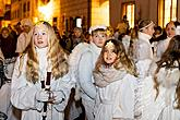 Angelic Procession and st. Nicholas Present Distribution in Český Krumlov 5.12.2019, photo by: Lubor Mrázek