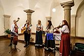 Kapka - Traditional Christmas concert of local folk band in Český Krumlov 15.12.2019, photo by: Lubor Mrázek