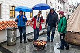 4th Advent Saturday at the Monasteries and Handing out of the Light of Bethlehem in Český Krumlov 21.12.2019, photo by: Lubor Mrázek