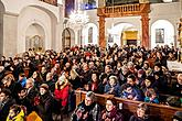 "Concert at the Monastery Church - Český Krumlov String Orchestra, Krumlov Chamber Orchestra and Mixed Singing Choir Perchta – ""Hej Mistře!"" – Bohemian Christmas Mass by J. J. Ryba in Český Krumlov 26.12.2019, photo by: Lubor Mrázek"
