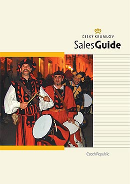 Sales Guide 2005 of the Town of Czech Krumlov, cover