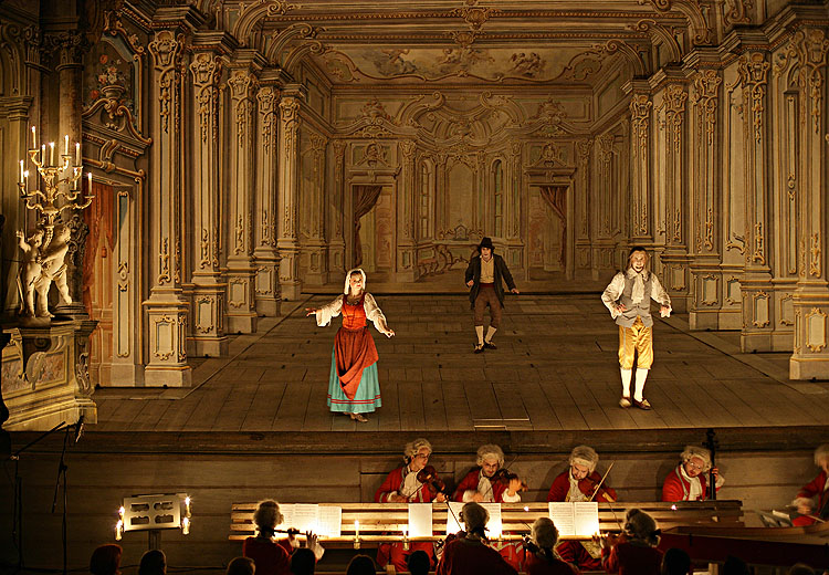 Collegium Marianum, Baroque Castle Theater, 10. and 11.8.2006, International Music Festival Český Krumlov 2006, source: © Auviex s.r.o., photo: Libor Sváček