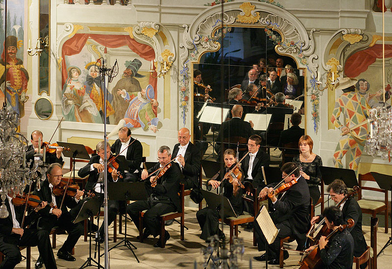Virtuosi Pragenses, 24.8.2006, International Music Festival Český Krumlov 2006, source: © Auviex s.r.o., photo: Libor Sváček