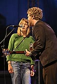 Markéta Irglová, Glen Hansard (Ireland) and their guests / Concert by the winners of this year's music Oscars, 2.8.2008, International Music Festival Český Krumlov 2008, source: Auviex s.r.o., photo: Libor Sváček