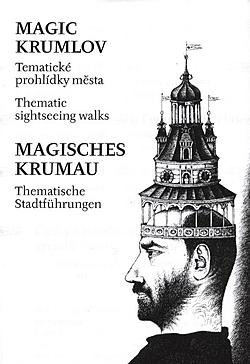 Stanislav Jungwirth, Magic Town, Český Krumlov, Businesscard