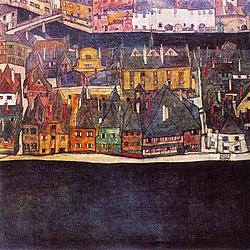 Egon Schiele, Black city