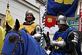 Historical procession and knightly tournament