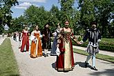 Historical costumed procession through the town